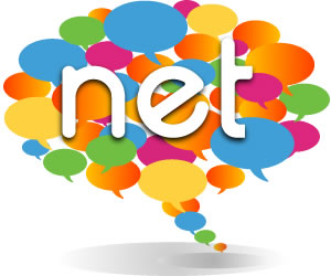 the Net - business networking logo